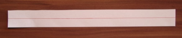 3cm wide paper strip